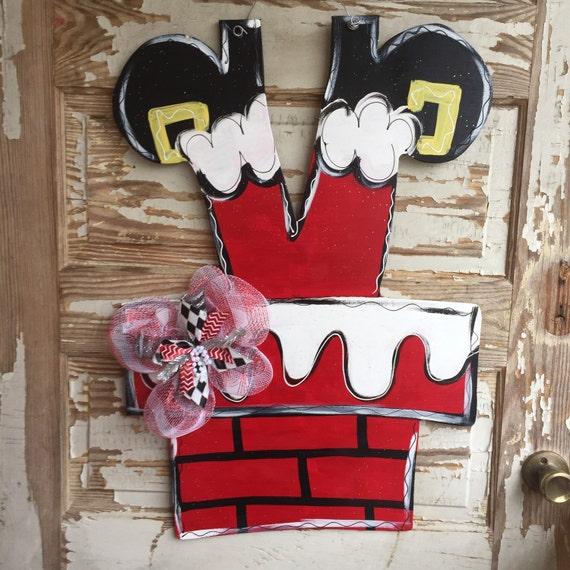 Christmas Santa Clause Door Hanger