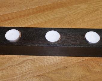 Mahogany tealight holder
