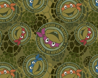 Teenage Mutant Ninja Turtles Knit by Springs Creative