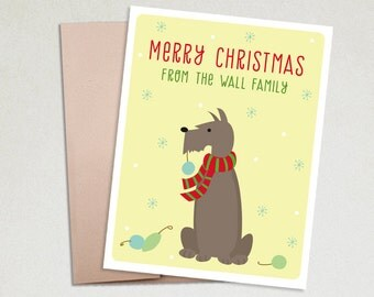 Personalized Christmas Cards- Pet Christmas- Pet cards-Dog Christmas cards-Cat Christmas cards-Christmas Cards set-Custom Pet-Holiday cards
