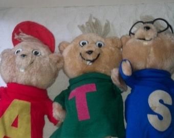 Alvin and the chipmunks plush