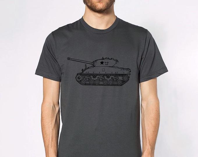 KillerBeeMoto: World War 2 M4 Sherman Tank Short & Long Sleeve Shirts Cartoon Version