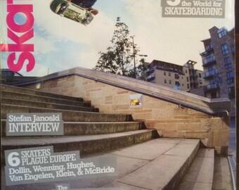 Vintage Skateboarder Magazine January 2003 Stefan Janoski Vol 12 No 5 NM-