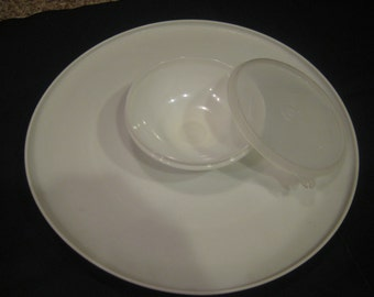 Tupperware Vegetable/chip and Dip Tray