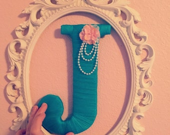 Decorative Tulle Letter