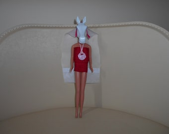 The Horse Bride - Found Item Art - Recycled Toys