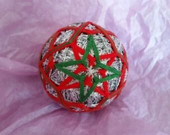 Christmas Temari Ball