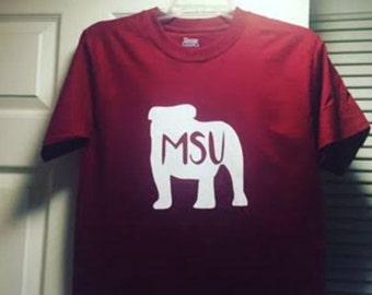 Mississippi State Bulldog Tshirt