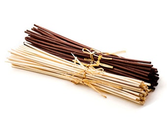 Rattan Reeds in Natural or Brown, Reeds for Reed Diffusers, Replacement Reeds