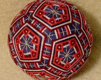 Japanese Temari Ball Pretty Ball