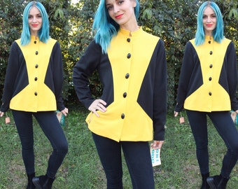Yellow and Black Space Jacket