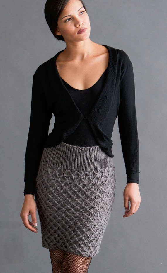 Women S Hand Knitted Skirt Maxi Dress Sweater Coat Aran