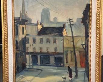 Albert Chiarandini Toronto Canada Impressionist Painting Group of Seven Rare