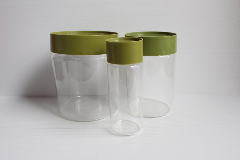 pyrex see n storevintage pyrex storage canistercontainer. Black Bedroom Furniture Sets. Home Design Ideas