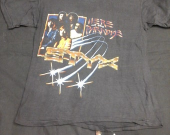 Vintage Styx here at the paradise shirt- Size M