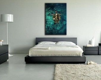 Glide : Fine Ocean Art on Canvas