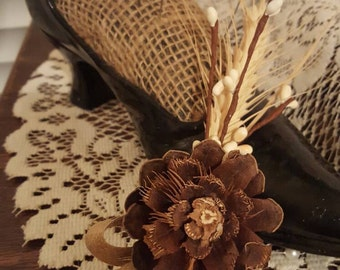 Boutonnieres, Rustic boutonnieres, Rustic wedding boutonnieres, Pinecone boutonnieres, Wheat boutonnieres