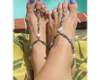 Foot Jewelry & Barefoot Sandals for your Beach Side Excursions