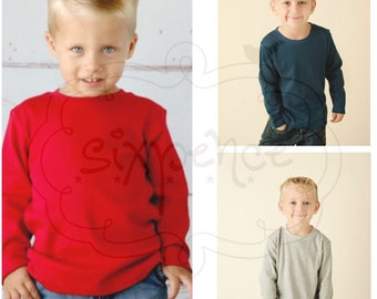 UPGRADE | Boy's Long Sleeve Shirt | Colored Shirt | Shirt Upgrade | Short Sleeve Shirt | Must Accomany A Sixpence Design | NOT BLANK