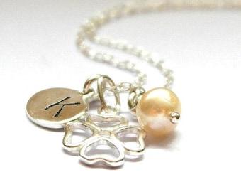 Shamrock Necklace - 4 Leaf Clover Necklace - 4 Leaf Clover Jewelry - Silver Shamrock Charm Necklace - Silver Clover Necklace