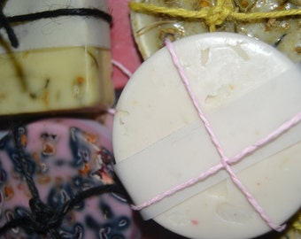 Organic homemade soaps: SAMPLE BOX