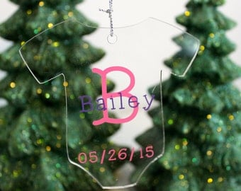Baby's First Christmas Ornament, Baby's 1st Ornament