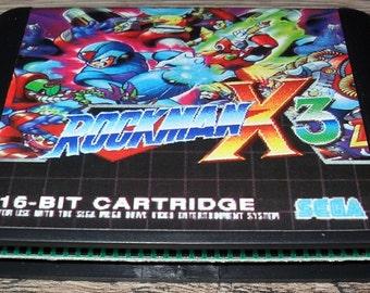 Megadrive Genesis game: Megaman Mega Man 3 X (Rockman X 3) (Customized)
