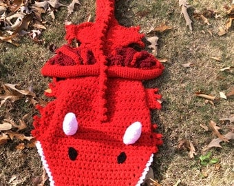 Crochet Dragon Blanket