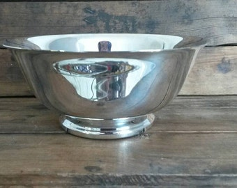 Small Vintage Silverplate Revere Bowl