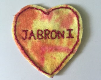 Jabroni Felt Embroidered Patch