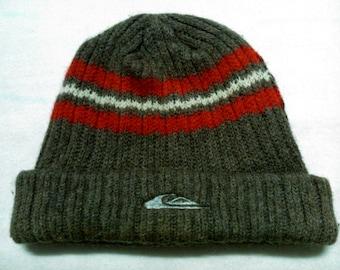 Quiksilver Wool Nylon Beanie Snow Cap Ski Hat