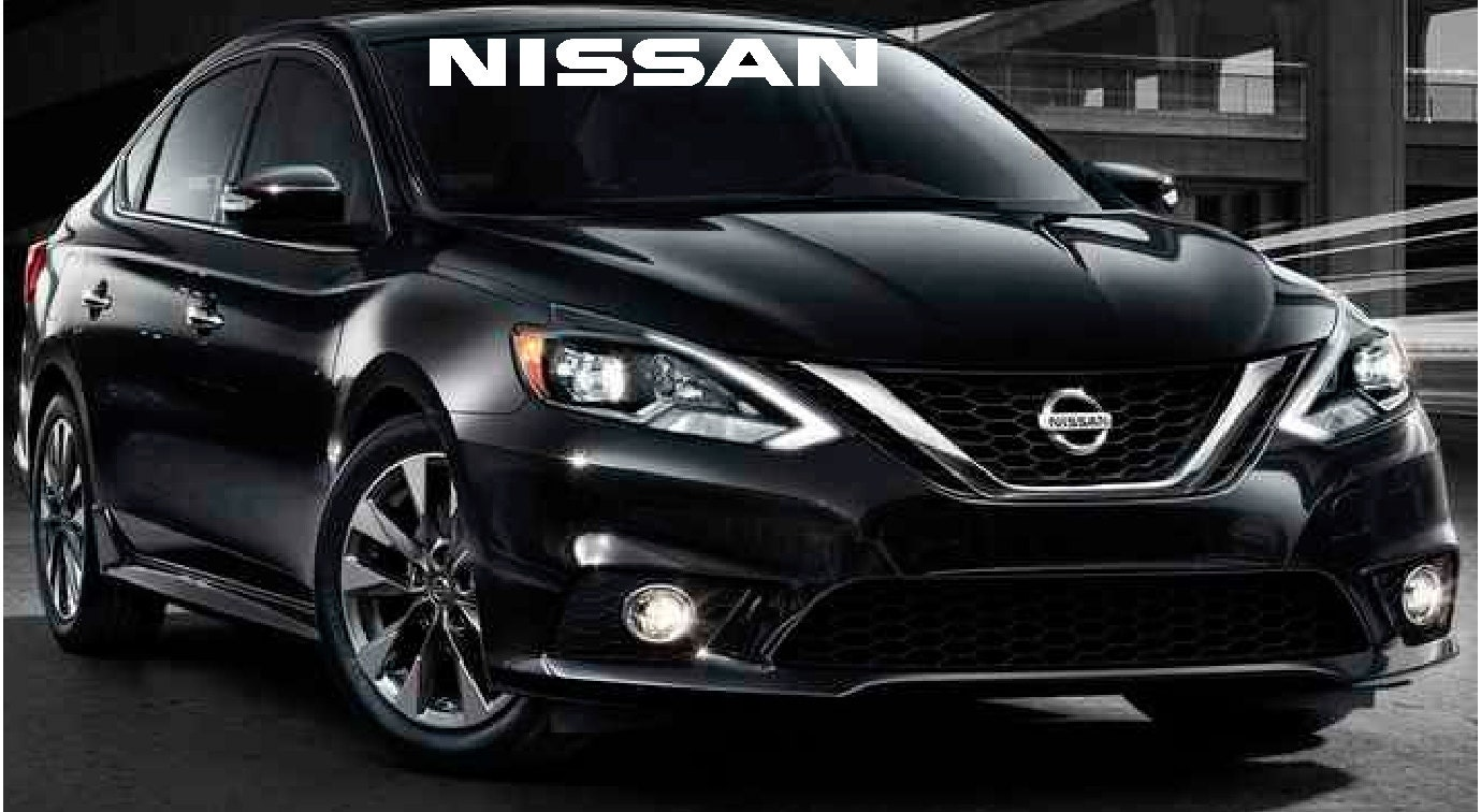 Nissan Front Windshield Decal Stickers Car Truck Vinyl Decal - Front window stickers for car