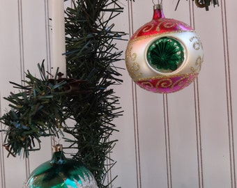 Vintage Christmas Ornaments, Antique Christmas Ornaments, Czechosolvakian Ornament, Christmas Collectibles, Tree Candle, Ornament Collection