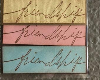 Friendship Card Saying