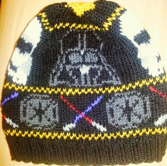 Star Wars Knit Hat Pattern