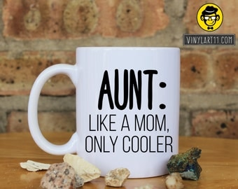 Aunts are like moms | Etsy