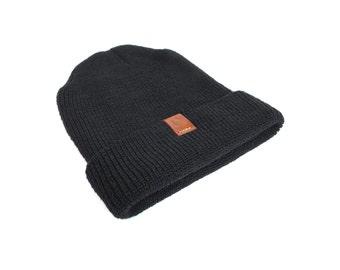 Wool Watch Cap - Black