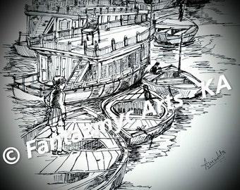 Boats in Kashi