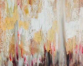 Hidden Love - Oil Pastel on Paper