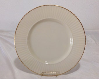 Lenox Special Ivory  with Gold Trim Scalloped edge Dinner Plate
