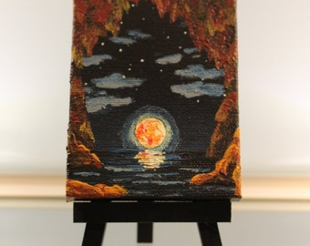 Mini Painting and Easel - Cave of Life (Maternity Gift)