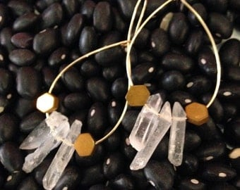 Crystal dangles with hexagons