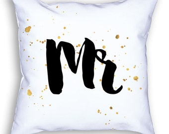 Mr & Mrs Custom Pillows Combo