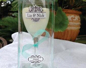 Clear Wine Glass Box,  Confection Box, Craft Box, Clear Box