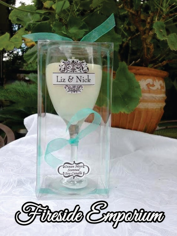 Clear wine glass box confection box craft box clear box for Glass boxes for crafts