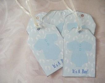 Pdf Digital Baby Boy Shower TAGS KIT