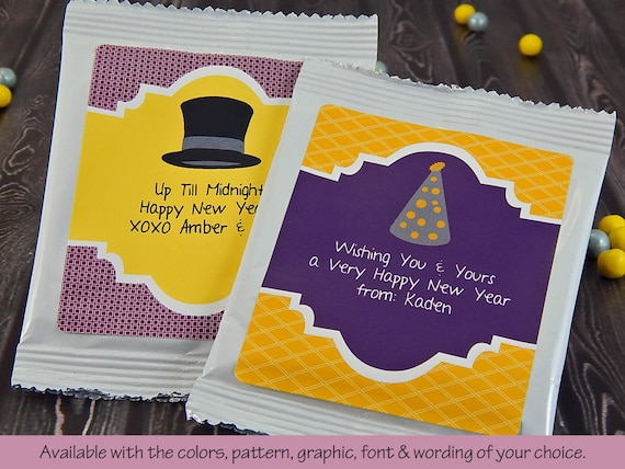 New Years Eve Wedding New Years Favors by PartyFavorsbyDesign