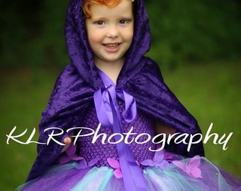 Hooded Children's Cloak, Princess Cape *READY TO SHIP*