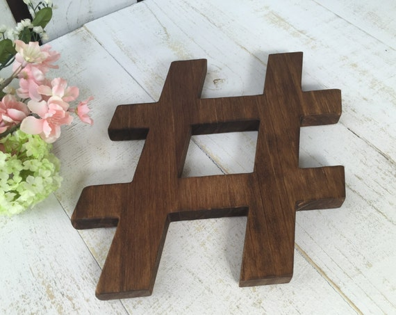 Hashtag wood hashtaggallery wallwood sign d cortrendy for Decor hashtags