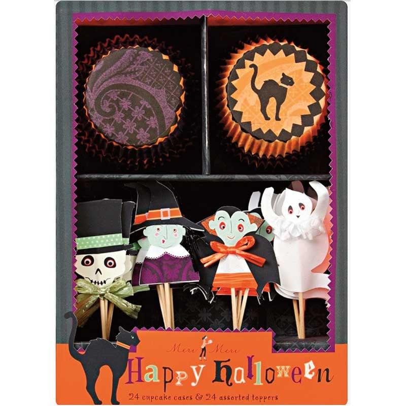 Meri Meri Halloween Cupcake Kit SALE Cupcake Liners